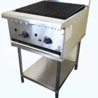 Gas Chargrill on Stand 900 mm wide