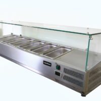Counter Top Refrigerated Display Fridge 1800 Length