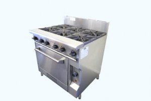 Caterware-Gas-4-Burner-Cooktop-Hotplate-with-Oven-4