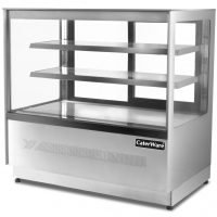 Caterware Freestanding Squared glass display fridge (1700 WIDE)