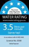 6 start logo water rating